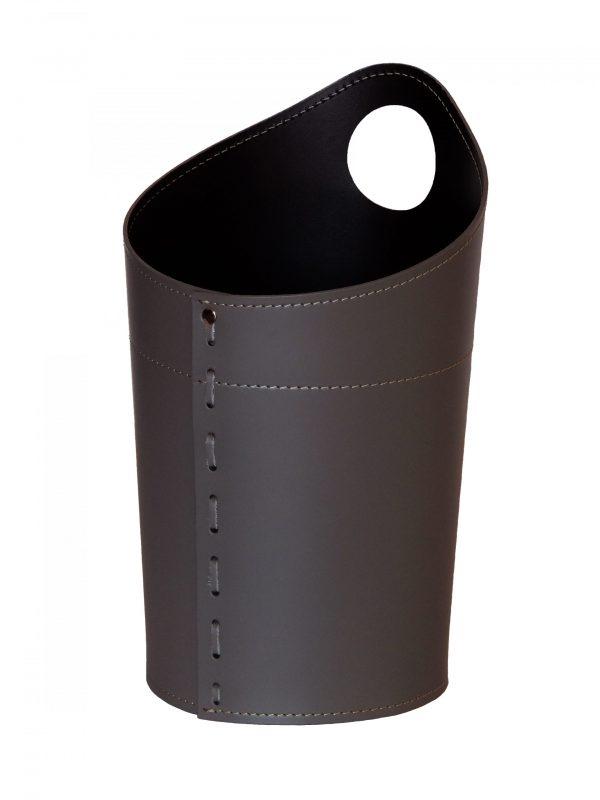 Papierkorb aus Leder AMBROGIO