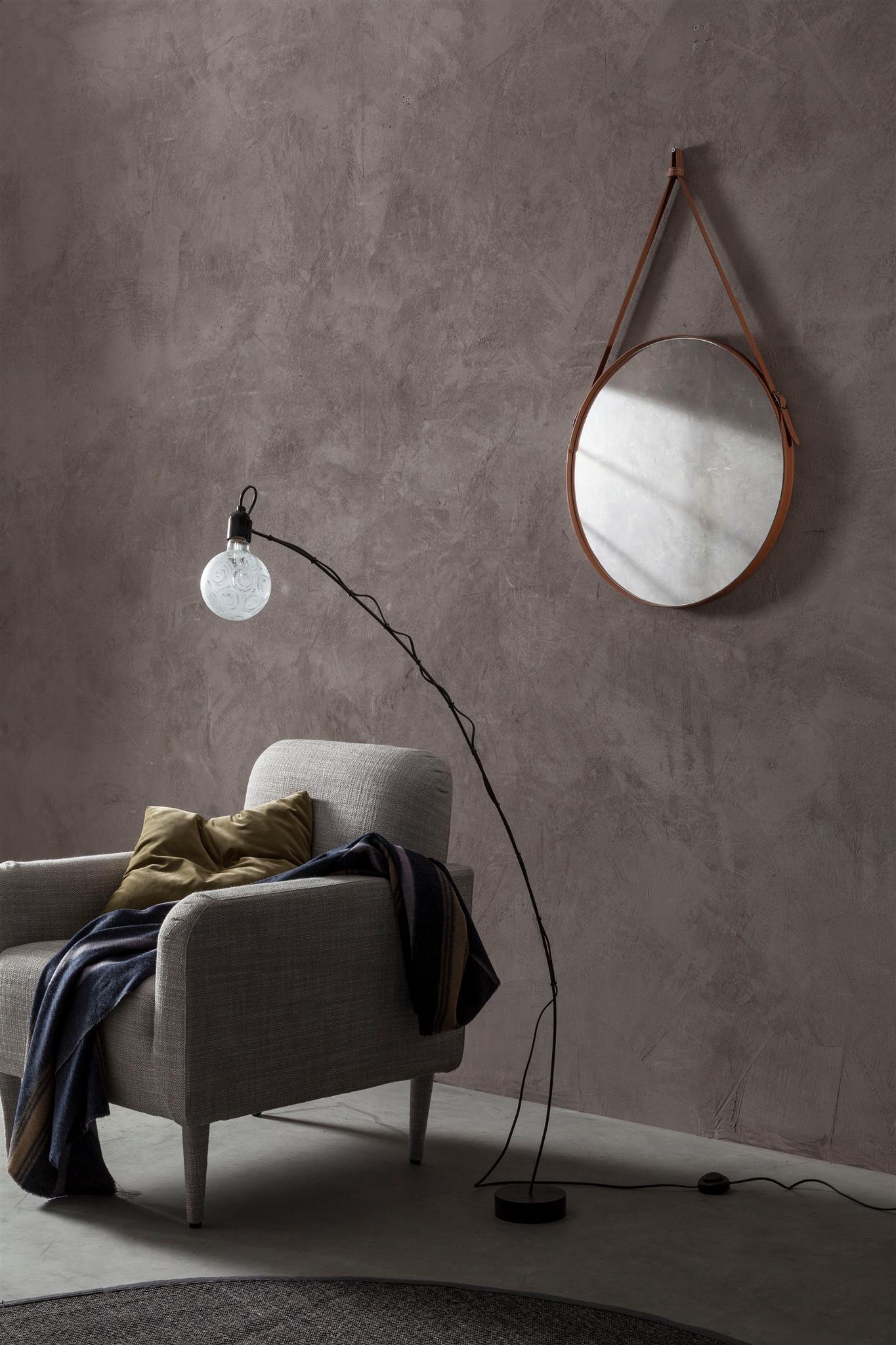 Pareti A Specchio Design effigies 60: specchio tondo da parete, cornice bordo e