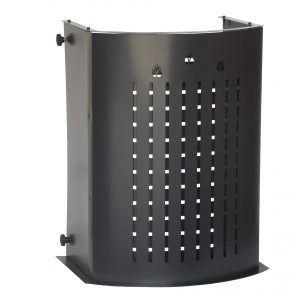 HERMO 68: Protezione Salvaustioni per Stufa a pellet e a legna, proteggi bimbo, protezione da ustioni e scottature, doppio schermo di sicurezza, disegnato da Firestyle®, 100% Made in Italy.