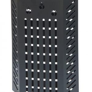 KALAMI' 2.4: Protezione Salvaustioni per Stufa a pellet e a legna, proteggi bimbo, protezione da ustioni e scottature, doppio schermo di sicurezza, disegnato da Firestyle®, 100% Made in Italy.
