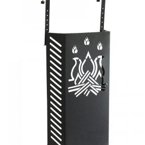 OMNIKA 6: protezione bambini da ustioni dal vetro della stufa o camino, per evitare scottature ai tuoi bambini, ai tuoi animali. Made in Italy, brevetto Firestyle®.