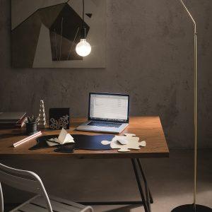 PUZZLE: Sottomano con tappetino mouse in cuoio colore Rosso, sottomano da scrivania, antiscivolo, tappetino design, Made in Italy by Limac Design®.