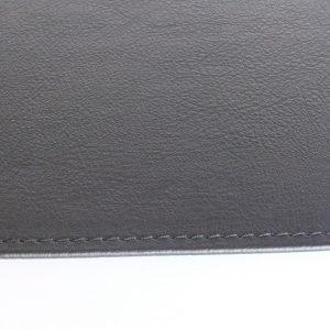TAQUA: tappeto in ecopelle ignifuga colore Grigio Antracite, tappeto per stufa, tappeto per caminetto, protezione stufa, Made in Italy, brevetto Firestyle®.