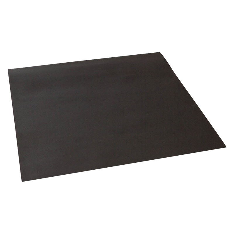 TAQUA: tappeto in ecopelle ignifuga colore Nero, tappeto per stufa, tappeto per caminetto, protezione stufa, Made in Italy, brevetto Firestyle®.
