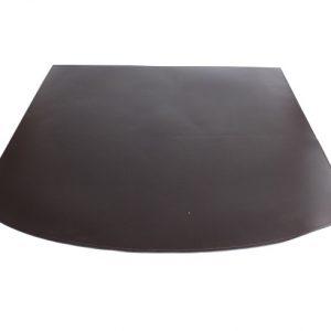 TASTO: tappeto in ecopelle ignifuga colore Testa di Moro, tappeto per stufa, tappeto per caminetto, protezione stufa, Made in Italy, brevetto Firestyle®.