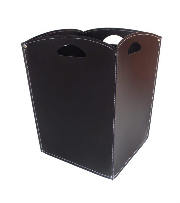 Bolso, cesta para leña o pellets en cuero VENUS