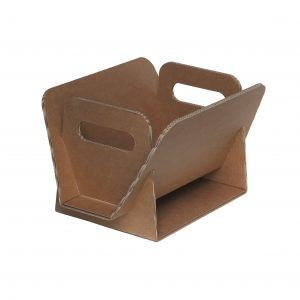 DAILY: double wave cardboard magazine rack, designer newspaper rack, ecological, recyclable container, Made in Italy by Limac Design®