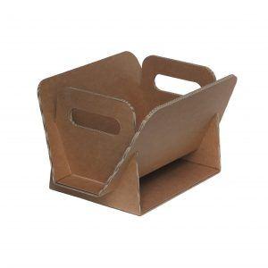 DAILY: porte-revues en carton à double vague, porte-journaux design, contenant écologique et recyclable, fabriqué en Italie par Limac Design®