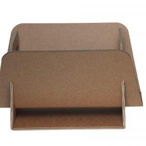 DAILY: portariviste in cartone onda doppia, porta giornali di design, contenitore ecologico, riciclabile, Made in Italy by Limac Design®