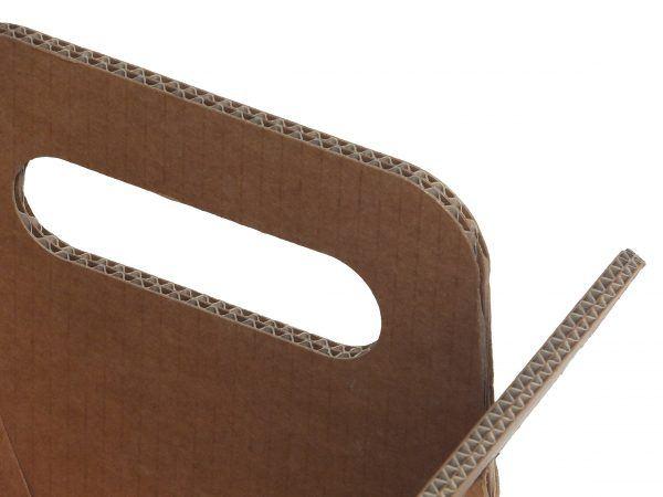 Designer-Zeitungsständer Doppelwellen-Zeitungsständer aus Pappe DAILY