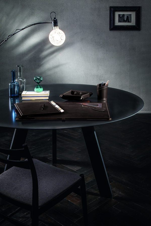 Schreibunterlage aus Leder ARISTOTELE