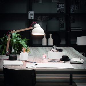 BRANDO SOTTOMANO: Sottomano da scrivania in cuoio colore Bianco, sottomano ufficio, con angoli arrotondati, antiscivolo, Made in Italy by Limac Design®.