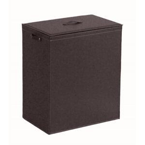 Wäschekorb Wäschesammler Wäschebox aus leder PETER