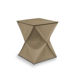Wäschekorb aus Vollnarbenleder CLEXI