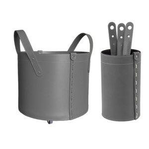 Geschenkidee Kamin-Set aus Leder LYCAD
